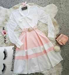 - Cute Skirt Outfits, Cute Casual Outfits, Cute Skirts, Girly Outfits, Modest Outfits, Pretty Outfits, Pretty Dresses, Stylish Outfits, Beautiful Dresses