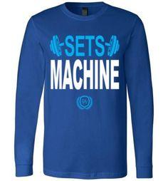 Sets Machine Long Sleeve T-Shirt