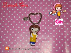 """Keychain/ Porta-chaves """"Cooking Mama"""" 100% Handmade by us."""