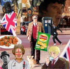 """""""Googled """"The Most British Picture Ever"""" and this came up....oh...my gosh!""""- I love it!! OMG THERE IS ENGLAND FOR HETALIA!!!!!#!!!"""