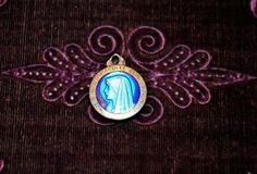 Vintage religious medal Patron saint medal by ForTheLoveOfFrance, $22.00