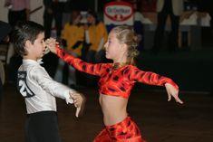 Competitive ballroom dance Cha Cha
