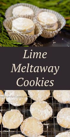 These Lime Meltaway Cookies are a great addition to any cookie tray. A ...