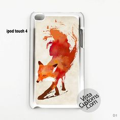 Vulpes vulpes colorful fox Phone Case For Apple, iPhone 4, 4S, 5, 5S, 5C, 6, 6 +, iPod, 4 / 5, iPad 3 / 4 / 5, Samsung, Galaxy, S3, S4, S5, S6, Note, HTC, HTC One, HTC One X, BlackBerry, Z10
