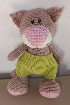 Amigurumi, Crochet kitty, cat, gehäkelte Katze, Crochet pattern (Etsy)…