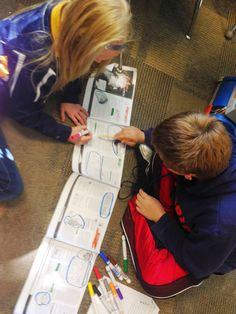 5th grade social studies. Unrolling the book to see how the details fit in the big picture! #scrolls #textmapping