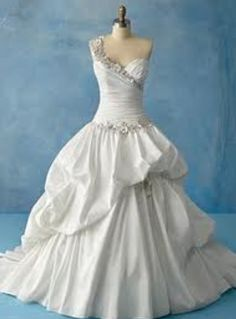 Tiana Disney bridal gown by Alfred Angelo