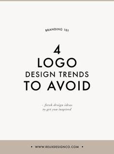 4 Logo Design Trends You Should Avoid