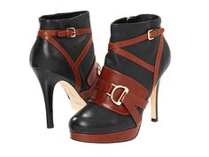 Cole Haan Carolyn Ankle Boot   Gorgeous equestrian aesthetic, sturdy & well balanced, but godawful fit for a slender customer!