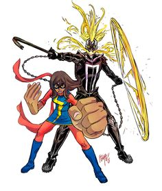 Ghost Rider & Ms. Marvel - Felipe Smith