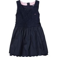 Tommy Hilfiger Girl`s lace mini dress, Blue £65.00 - great party dress for girls! #kidsfashion