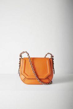 Handbags & Backpacks: Leather to Denim to Crossbody with Urban Style Fall 2015, Saddle Bags, Women's Accessories, Bones, Shoulder Bag, Handbags, Chain, Mini, Womens Fashion