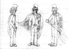 Dandy steampunk 2 by Firya on DeviantArt Dandy, Les Oeuvres, Steampunk, Deviantart, Illustrations, Paint, Dandy Style, Illustration, Illustrators