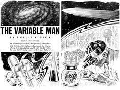 Rapid Ear Movement [Free Audiobooks]: The Variable Man [by Philip K. Dick] Free Audiobooks link to the free audiobook Sci Fi Short Stories, Science Fiction Short Stories, Science Fiction Magazines, K Dick, Free Kindle Books, Variables, Free Reading, Audio Books, Refrigerators