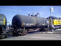 A city rail train gondola train and ultra train middle train