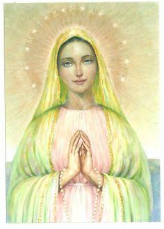 Madre Divina - El Jardín de mi Corazón - http://hermandadblanca.org/2013/08/20/madre-divina-el-jardin-de-mi-corazon/