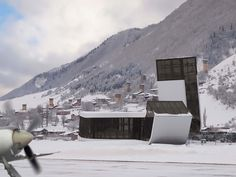 new airport building' by jurgen mayer h architects in mestia, georgia