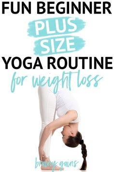 If youre overweight and dont know where to start dont worry Ive got you! You may not know it but yoga for weightloss is a real thing and it provides real results. To show you what Im talking about here are 6 foundational yoga poses to get you sta Quick Weight Loss Tips, Weight Loss Help, Yoga For Weight Loss, Ways To Lose Weight, Losing Weight, Reduce Weight, Weight Gain, Weight Lifting, Yoga Beginners