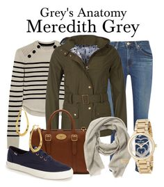 Grey's Anatomy by sparkle1277 on Polyvore featuring polyvore, mode, style, Isabel Marant, Barbour, AG Adriano Goldschmied, Keds, Mulberry, MICHAEL Michael Kors, Argento Vivo, Burberry, fashion and clothing