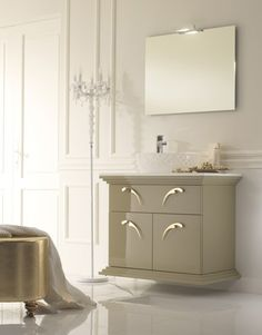 The Naos vanities from Neabath have a theatrical flair and aplomb all of their own. Instantly noticeable, the stunning handles in silver or gold finishes punctuate the formality of...