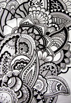 cool designs sharpie drawing draw drawings phone easy doodles simple doodle patterns cases hand drawn google point fine zentangle society6