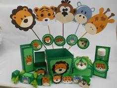 Kit scrap festa safari