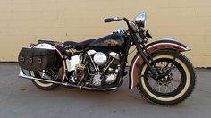 1958 Harley-Davidson FLH Panhead