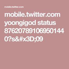 mobile.twitter.com yoongigod status 876207891069501440?s=09