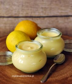 Przepis na prosty lemon curd Good Food, Yummy Food, Lemon Curd, I Foods, Cake Recipes, Food Porn, Food And Drink, Favorite Recipes, Sweets