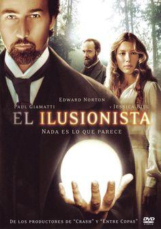 El ilusionista (2006) EEUU. Dir: Neil Burger. Suspense. Romance. 1900 (circa) - DVD CINE 822