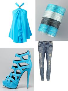 """""""Blue Sky(:"""" by weheartitbtch on Polyvore"""