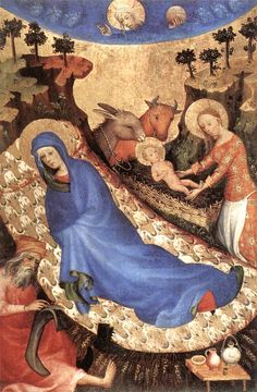 Unknown Flemish master: The Nativity