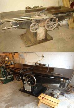 Kyle VanMeter & Co. Handcrafted Wood Furniture - Machinery Restorations