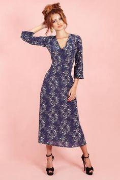 Silk sea midi dress SALE