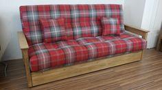 Boston 3 seat clic-clac sofa bed
