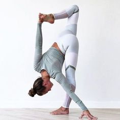 When I'm feeling overwhelmed I do this pose. Instant balance and serenity.