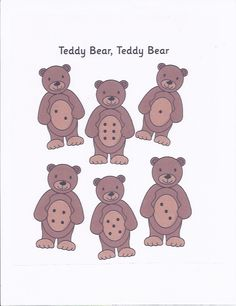 Znalezione obrazy dla zapytania teddy bear crafts for preschool Teddy Bear Crafts, Teddy Bear Day, Counting Bears, Bears Game, Preschool Lessons, Preschool Activities, Bear Theme Preschool, Goldilocks And The Three Bears, File Folder Games
