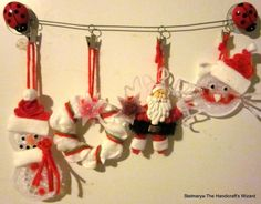 Decorations set includes 4 pieces christmas ornaments di Stelmarya
