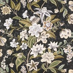 The wallpaper Celestine - from Colefax and Fowler is wallpaper with the dimensions m x 10 m. The wallpaper Celestine - belongs to the popu Colefax And Fowler Wallpaper, William Morris, Churchill, Decoration, Magnolia, Printing On Fabric, Texture, Antiques, Floral