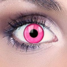 Dazzle your friends with these Dream Eyes Pink Contact Lenses . These pink lenses have a bright solid color that really stands out. They completely cover your natural eye color and are perfect for Halloween costumes and general daily use.   Transform your look with Dream Eyes Contact Lenses . These contact lenses give you a fantastic choice, from natural looking color lenses to scary Halloween designs. Dream Eyes Contact Lenses are light, soft and comfortable to wear. Their 42% water…