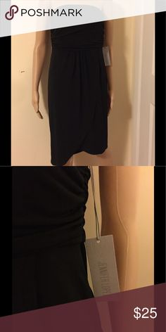 Strapless dress NWT Simple Black dress can be worn dressed up or casually Jennifer Lopez Dresses Midi
