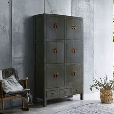 Armoire en bois de pin 190 Qing TIKAMOON