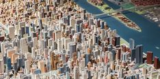 Panorama of the City of New York at the Queens Museum. Photo by Scott Rudd, courtesy of Queens Museum.