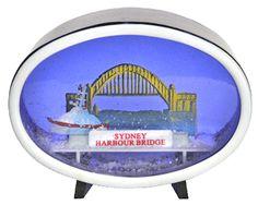Sydney Harbour Bridge, Australia Snowdome at snowdomes.com