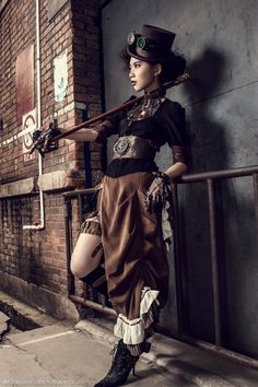Photographer _Xyuss nebula personal website | Show - Steampunk Clothing shooting…