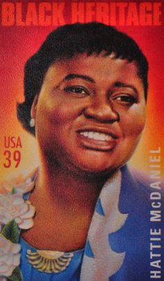 Hattie McDaniel (June 1895 – October was an American actress, singer-songwriter, and comedienne. Best known as Mammy in Gone with the Wind first African American to win an Academy Award for Best Supporting Actress. Hattie Mcdaniel, Kansas, Black History Facts, African American Women, African Americans, African American History, Women In History, Stamp Collecting, Black People