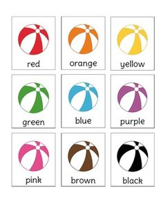 Beach Ball Fun is a memory game that focuses on color word recognition. Included in the document are two sets of memory cards, so you only need to print the document once to play. Works great as a literacy center, word work center, daily 5 center, or a individual game.