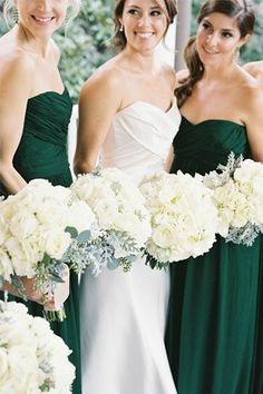 emerald, mint and gold wedding palette // bridesofadelaide.com.au
