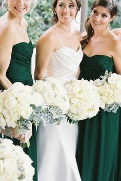 emerald, mint and gold wedding palette // bridesofadelaide.com.au