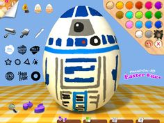 Paint on 3D Easter Eggs | best apps for kids | iPad